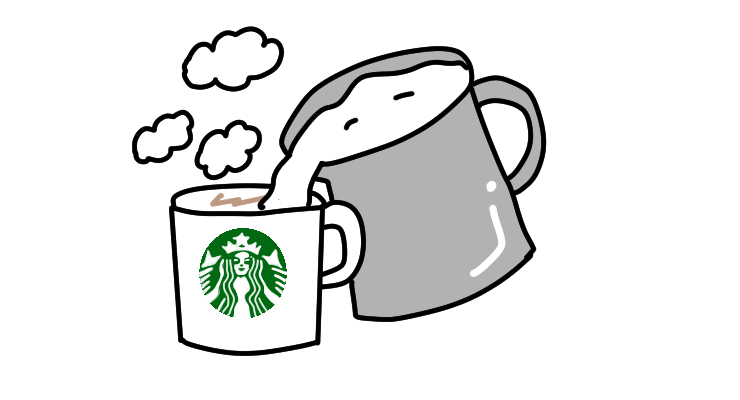 Starbucks9 hotmilk